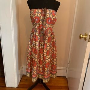 Plenty by Tracey Reese Blue Floral Dress Size 10